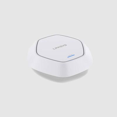 LINKSYS LAPN600 BUSINESS ACCESS POINT WIRELESS WI-FI DUAL BAND 2.4 + 5GHZ N600 WITH POE