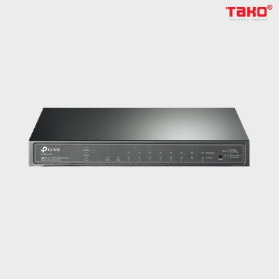 TL-SG2210P Switch Smart JetStream 10 cổng Gigabit với 8 cổng PoE+