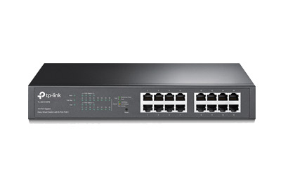 TL-SG1016PE 16-Port Gigabit Easy Smart PoE Switch with 8-Port PoE+