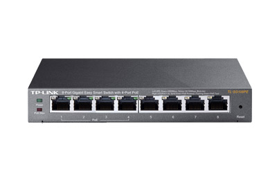 TL-SG108PE Switch Easy Smart 8 cổng Gigabit  với 4 cổng PoE