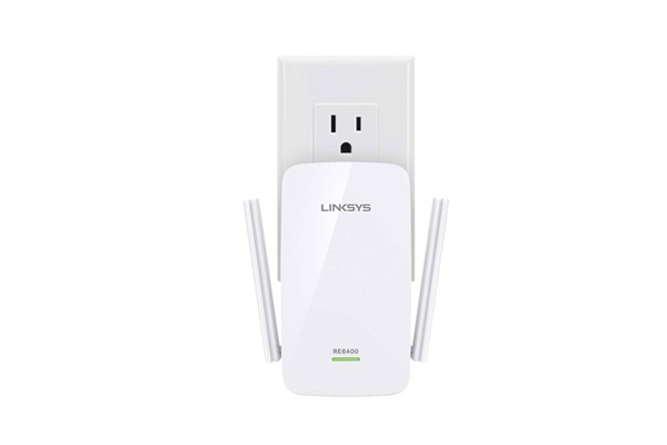 LINKSYS RE6400 AC1200 BOOST EX WI-FI RANGE EXTENDER 2