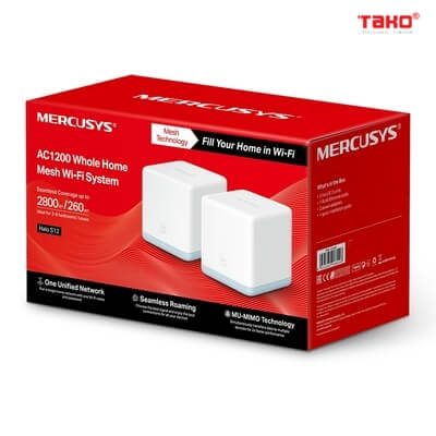 Router Mercusys Halo S12 (3-Pack) 1