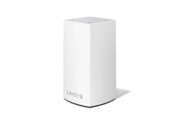 WHW0101-AH Linksys Velop Intelligent Mesh WiFi System, Dual-Band, 1-Pack White (AC1300) 1